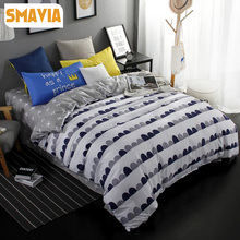 SMAVIA Bedding sets 3/4pcs Cartoon Kids Duvet Cover Sets Twin Full Queen King Bed Sets Home Textile Hotel Bed Linen Bed Sheet