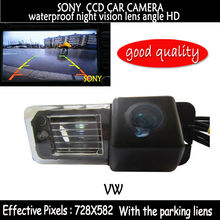 SONY CCD Car RearView Reverse Backup Parking Color Camera with the parking lines for VW Volkswagen Polo V (6R) Golf 6 VI Passat