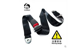 Two point type seat belts car seat belt safety belt for car school bus Forklift BLACK FREE SHIPPING
