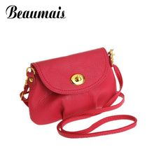 Beaumais 2017 Fashion Women Messenger Bags Cover zipper Mini Small Women Handbags Women Shoulder bags Crossbody Bags XB001