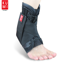 Black Super Strong Ankle Bandage Ankle Brace Support Sports Foot Stabilizer Pain Ankle Guard Strap Wrap Sprain Basketball(China)