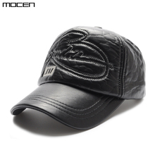 High Rushed Limited Solid Adult Quality 2017 Baseball Cap Faux Casual Autumn Winter Fashion Caps Thick Warm Earmuffs Wholesale(China)