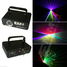 3D DMX 1000mw RGB Laser Stage Lighting Scanner DJ Show Blue Light Effect Projector Cool Disco Beam