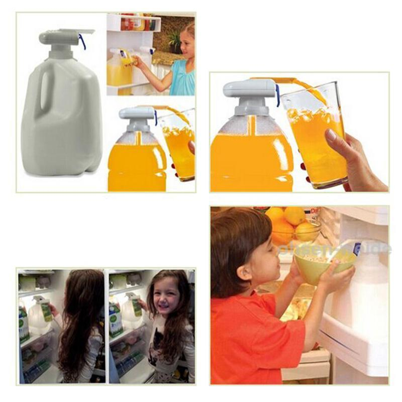 Portable Hand- free Drinking Straw Soda Gadget Coke Orange Drinking Water Machine Magic Tap Straws Paryt Supplier(China)