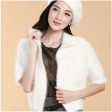 Explosion Models Long-Haired Mink Cashmere Cardigan Sweater Coat Thicker Ms. Fur Shawl Shirt Authentic Free Shipping