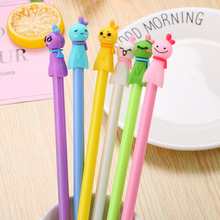 Japanese Creative Sunny Doll Lovely Girl Gel Pens Cartoon Anime Stationery Store School Cute Kids Escritorio Material Papeleria