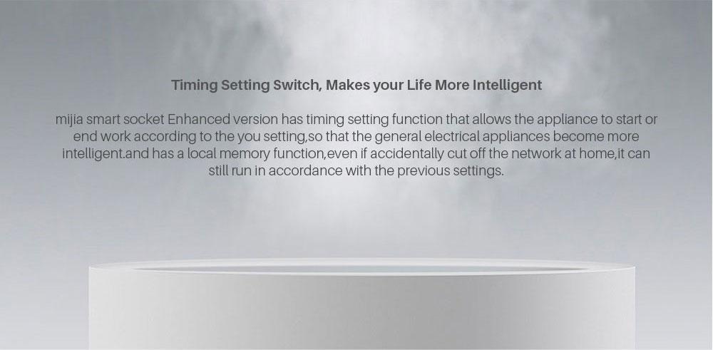 Xiaomi Mijia Smart wifi Socket Plug Enhanced Dual USB Fast Charger Timer Setting Electricity statistics Wireless APP Control (4)