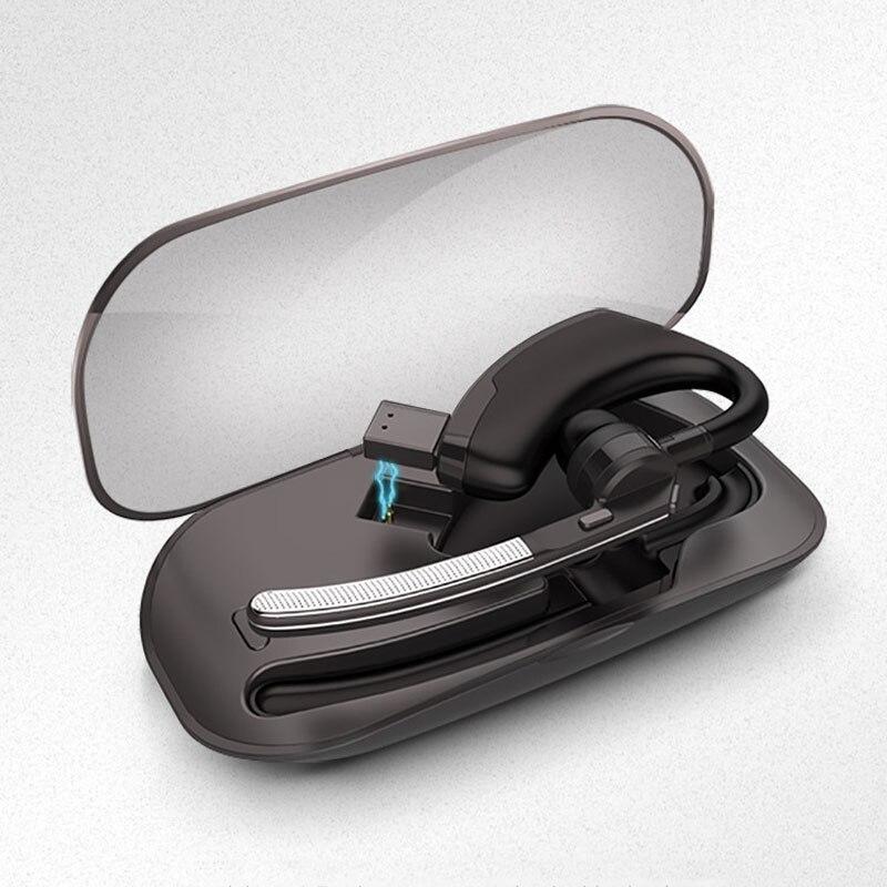 Business Bluetooth Headphones V4.1 Car Handsfree Call Music Bluetooth Headset+Portable Storage Box fone de ouvido bluetooth<br>