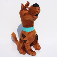 13'' 35cm Cute Scooby Doo Dog Soft Stuffed Plush Toy Dolls Gift For Children(China)