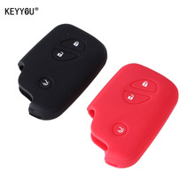 KEYYOU Silicone car key case Key Case cover For Lexus CT200h ES 300h IS250 GX400 RX270 RX450h RX350 LX570 Key Cover Key