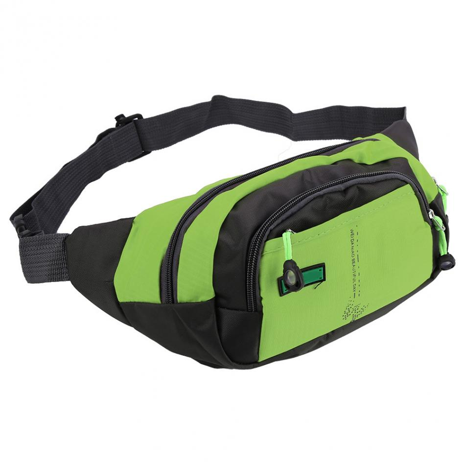Travel Waist Pack,travel Pocket With Adjustable Belt Cute Cartoon Running Lumbar Pack For Travel Outdoor Sports Walking