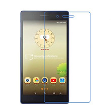 2Pcs/Lot 9H Tempered Glass Screen Protector Film for Lenovo Tab3 7 Essential 710 (Tab 3 710F) + Alcohol Cloth + Dust Absorber