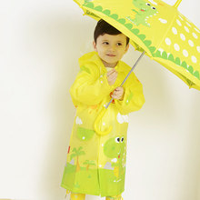 Cartoon Animal Kids Rain Coat Boy Girl Children Raincoat Rainwear/Rainsuit,Baby Waterproof Raincoat Student Poncho Rain Gear