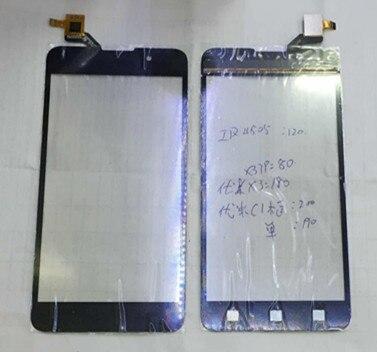 100% new Touch screen digitizer For 5.5 UMI C1 MINI Cross C1 mini  Black free shipping<br><br>Aliexpress