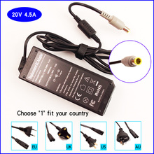 20V 4.5A Laptop PC Ac Adapter Battery Charger for IBM / Lenovo / Thinkpad 3000 C100 C200 N100 N200 V100 V200 R400 R500 X61LS(China)