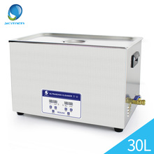 Ultrasound Cleaner Washer 30L Tank Baskets Jewelry Injector Ring Dental PCB 600W 40kHz Digital Industry Ultrasonic Bath Cleaner