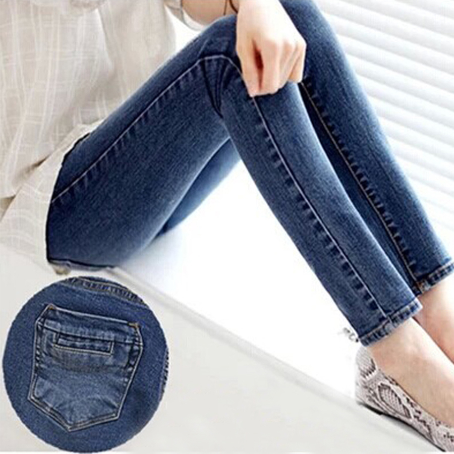 2017 Spring Autumn Style Celebrity Women High Stretch Skinny Jeans Woman Pantalones Vaqueros Denim High Waist PantsОдежда и ак�е��уары<br><br><br>Aliexpress
