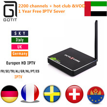 CSA90 Andriod 5.1 RK3368 2G/16G Power IPTV Spain Italian French UK DE Holland Arabic Portugal IPTV with Adult HotClub xxx Box