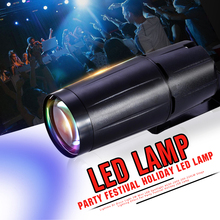Lightme DJ Disco Light 3W Mini LED Spotlight AC90-240V 200-220LM Stage Lighting Effect For Party Festival Holiday LED Lamp(China)