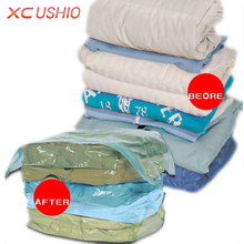 1pcs Home Three-Dimensional Vacuum Bags For Clothes Compression Quilt Organizer Bag Transparent Seal Space Saver Storage Bag
