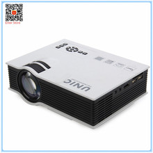 Original Projector UNIC UC40+ UC40 Plus 800LM 800*480 Pixels Simplified Micro Projector For Home Business Portable LCD Projector