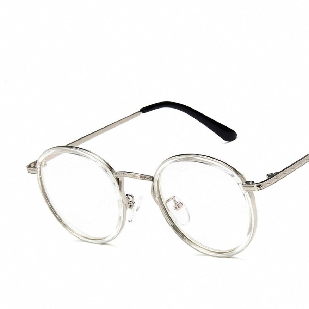 Alloy Frame Fashion Eyewear Design Versatile Safe Healthy Ladies Mirror Clear Glasses Frames For Women Transparent Eyeglasses