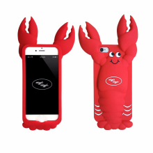 For iPhone 5s Case 6 Case Lobster Silicon Phone bag 360 double protector Origina Rugged Capsule Anti-knock Dirt-resistant cover(China)