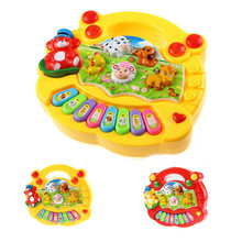 Baby Kids Musical Educational Piano Animal Farm Developmental Music Toy Hot Selling Wholesale Retail MU883251(China)
