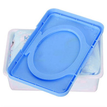 1 Pc Plastic Baby Wipes Napkin Storage Box Tissue Paper Case Holder Daily Use Home Supplies Wholesale(China)