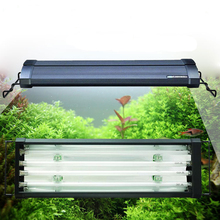 "24"" 60-80CM 96W ODYSSEA Quad T5HO Aquarium Lighting Marine Fowlr Cichilid Freshwater Plants Discus Tetra Fish Tank Light Fixture"
