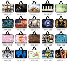 "Newest Design10""  Laptop Sleeve Bag Case Pouch + Hide Handle For 10.1"" ASUS Eee Pad TF10 Tablet PC"