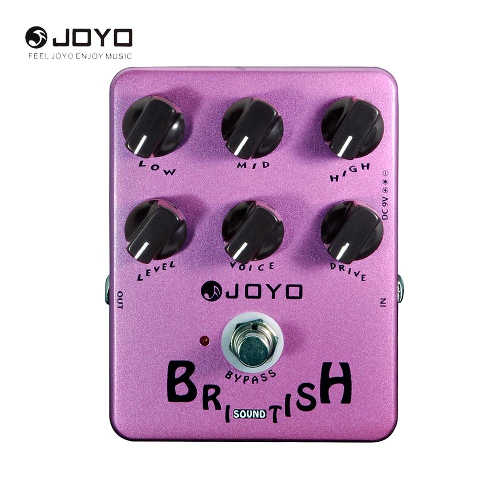 JOYO JF-16 British Sound Speaker Simulation Electric Overdrive Guitar Effect Pedal Guitar Accessory<br>