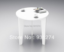 3 LEGS Round acrylic tea tables, Lucite coffee tables, Colored sofa tables(China)