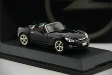 Out of print S HUCO 1:43 OPEL GT alloy convertible car model Boutique collection model