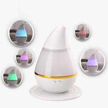 Promotion USB LED Air Humidifier Incense Burners Essential Oil Ultrasonic Aroma therapy Diffuser Air Humidifier 250ML(China)