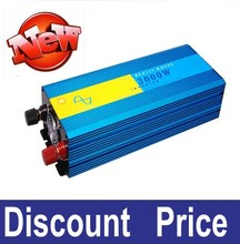 Hot !!! Peak Power 6000w DC 24v To AC 220v 3000w Pure Sine Wave Inverter Off Grid Solar Inverter 3kw With 18 Months Warranty(China)