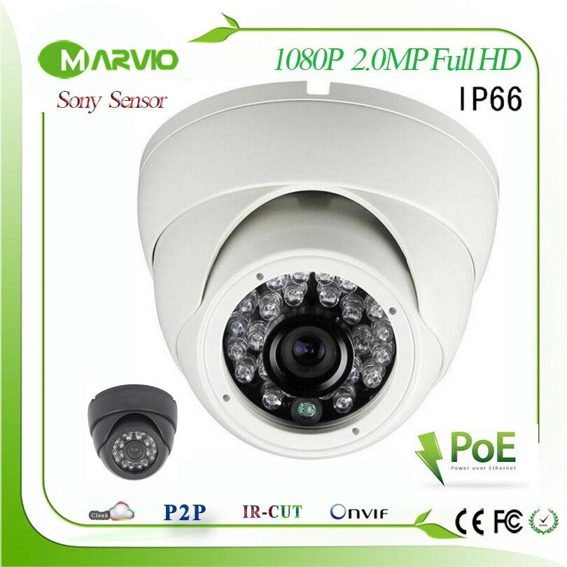 2 Megapixel Sony IMX322/IMX222 1080P Full HD Waterproof IR Night Vision Dome CCTV Network IP POE Camera CCTV Surveillance system<br>