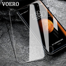 Buy VOERO Ultra-thin 9H Tempered Glass iPhone X 10 Protective Film Explosion-proof Glass iPhone 10 X Screen Protector Film for $1.49 in AliExpress store