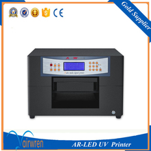 High quality plastic bag UV printer wood card plastic phone case printer glass printing machine prices with CISS system