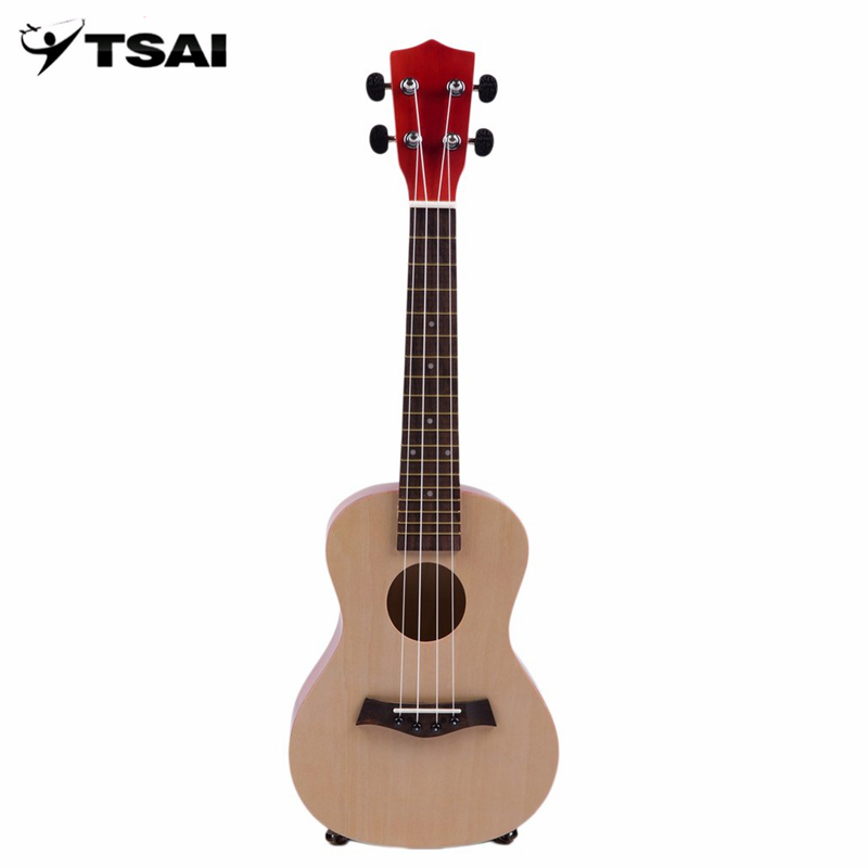2017 TSAI 23 Inch Universal Wooden Ukulele Portable Size Hawaii Style Rosewood Ukelele Music Instrument For Beginners Players
