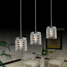modern crystal pendant lamp hanging pendant lighting LED Linear Pendant Lamp Contemporary pendant lights for Kitchen