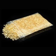 1000pcs 4.5mm Light gold / Champagne WEDDING TABLE SCATTER CRYSTALS DIAMOND DECORATION