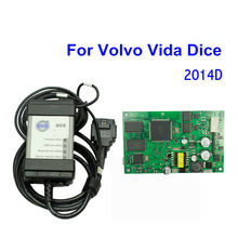 Latest 2014D Professional Vida Dice For VOLVO VIDA DICE Diagnostic Tool Multi-Language For Volvo Dice Vehicles Vida All-In-One