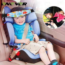 Onever Car Safety Seat Adjustable Infants Baby Sleep Head Support Positioner Car Seat Kids Head Face Fastener Fastening Belt Pad(China)