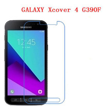 3 PCS HD phone film PE touch preserving eyesight for Samsung GALAXY Xcover 4 G390F touch screen protector with wipes(China)
