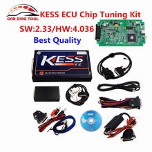 Newest V2.33 KESS V2 OBD2 Manager Tuning Kit Car ECU Programmer KESS Hardware V4.036 Use Easier Than KTAG k TAG ECU Chip Tool