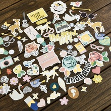 60pcs Good Life Colorful Cardstock Die Cuts for Scrapbooking/Card Making/Journaling Project DIY Craft