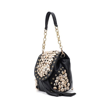 FGGS Hot New Fashion Women's Handbag PU Leather Crossbody Messenger Bag Women Button Tassel Punk Designer Handbag Shoulder Bag(China)