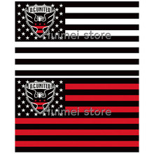 D.C. United Logo Large Outdoor Flag 3ft x 5ft  Custom D.C. United Logo flag
