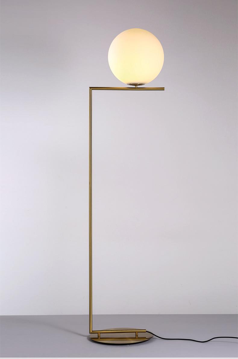 Modern LED Floor Lamp Floor Light Shade Glass Ball Standing Lamp for Bedroom Living Room Gold Designs (18)